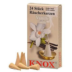 Räuchermänner Räucherkerzen Knox Räucherkerzen - Vanille