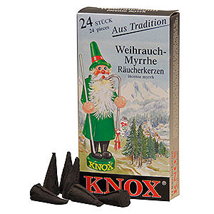 Räuchermänner Räucherkerzen Knox Räucherkerzen - Weihrauch