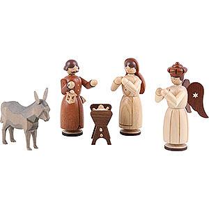 Kleine Figuren & Miniaturen Krippen Krippenfiguren - Heilige Familie - 13 cm