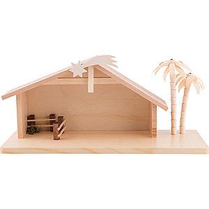 Kleine Figuren & Miniaturen ULMIK Krippe Krippenhaus klein - 15 cm