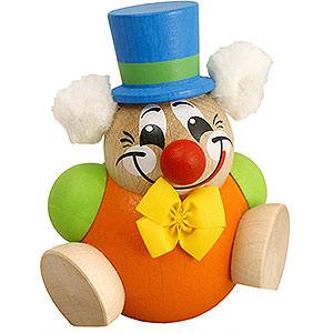 Kleine Figuren & Miniaturen Kugelfiguren (Seiffener Vk.) Kugelfigur Clowny - 8 cm