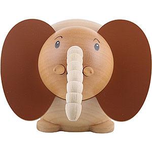 Kleine Figuren & Miniaturen Tiere Elefanten Kugelfigur Elefant - 6 cm