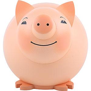 Kleine Figuren & Miniaturen Tiere Schweine Kugelfigur Schwein - 9 cm
