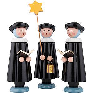 Kleine Figuren & Miniaturen Kurrende Kurrende schwarz 30 cm