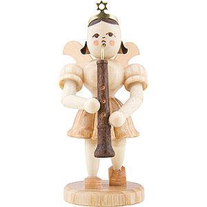 Weihnachtsengel Kurzrockengel (Blank) Kurzrockengel Oboe, natur - 6,6 cm