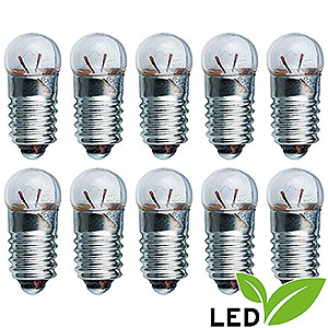 Small Figures & Ornaments Accessories LED Light Bulb - E5.5 Socket - 3.5V