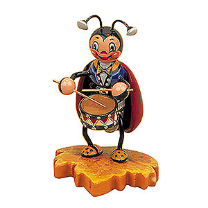 Small Figures & Ornaments Animals Beetles Ladybug with Drum - 8 cm / 3 inch