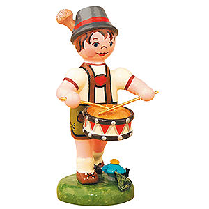 Small Figures & Ornaments Hubrig Lampion Kids Lampion Child Boy with Drum - 8 cm / 3 inch