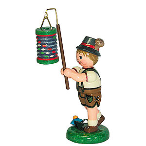 Small Figures & Ornaments Hubrig Lampion Kids Lampion Child Boy with Lantern - 8 cm / 3 inch