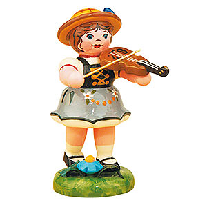 Small Figures & Ornaments Hubrig Lampion Kids Lampion Girl with Violin - 8 cm / 3 inch