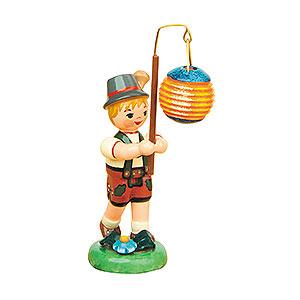 Kleine Figuren & Miniaturen Hubrig Lampionkinder Lampionkind Junge mit Kugellampion - 8 cm