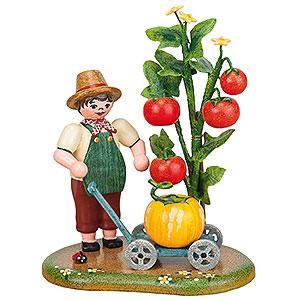 Kleine Figuren & Miniaturen Hubrig Vier Jahreszeiten Landidyll Gartenfreuden - 11x9 cm