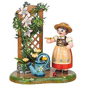 Kleine Figuren & Miniaturen Hubrig Vier Jahreszeiten Landidyll Sommerblumenranke - 10 cm