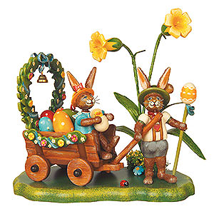 Small Figures & Ornaments Animals Rabbits Let's Go to the Green Countryside - 14 cm / 5,5 inch