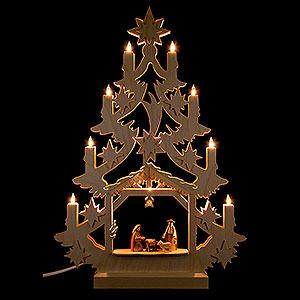 Lichterwelt Lichterspitzen Lichterspitze Christbaum - 47x34x5,5 cm