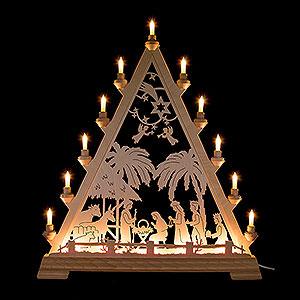 Lichterwelt Lichterspitzen Lichterspitze Christgeburt - 66 cm