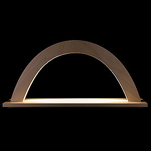 Candle Arches All Candle Arches Light Arch - Maple Natural - 42x23x11 cm / 16.5x9x4 inch