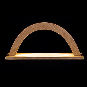 Candle Arches All Candle Arches Light Arch - Oak - 42x23x11 cm / 16.5x9x4 inch