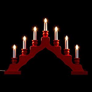 World of Light Swedish Style Light Arch - Swedish Style - Red - 33 cm / 13 inch