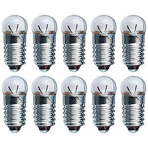 Small Figures & Ornaments Accessories Light Bulb - E10 Socket - 4.8V/0.3A