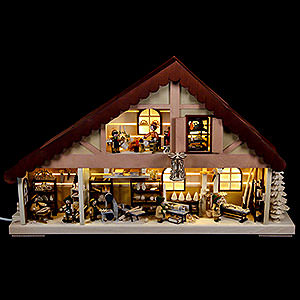 World of Light Light Houses Light House Ore Mountains Workshop - 60x38 cm / 23.5x15 inch