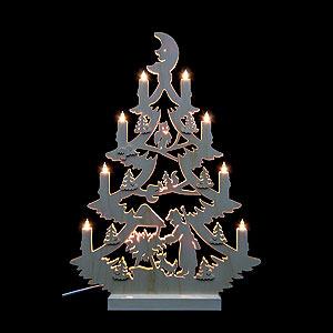 World of Light Light Triangles Light Triangle - Christmas Tree - 47x34x5,5 cm / 18x13x2 inch