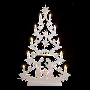 World of Light Light Triangles Light Triangle - Christmas Tree - 60x40x5,5 cm / 23,6x15,6x2 inch