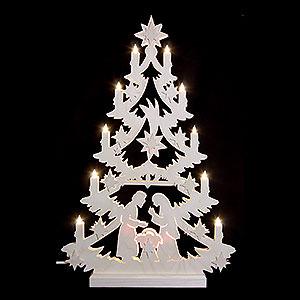 World of Light Light Triangles Light Triangle - Christmas Tree - 60x40x5,5 cm / 23,6x15,6x2 inch