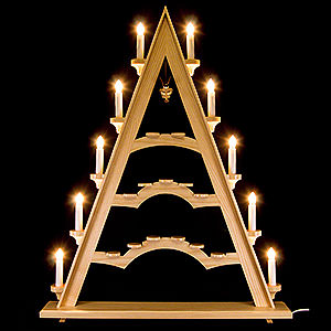 World of Light Light Triangles Light Triangle - Floating Angel - 53x66 cm / 26 inch