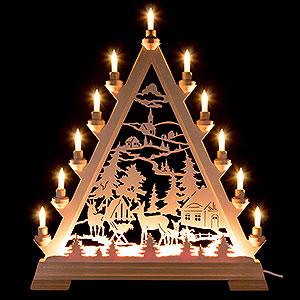 World of Light Light Triangles Light Triangle - Forest Hut - 56 cm / 22 inch