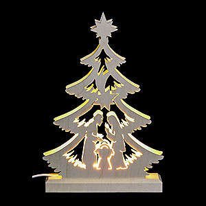 World of Light Light Triangles Light Triangle - Nativity Scene - LED - 23.5x15.5x4.5 cm / 9.06x5.91x1.57 inch