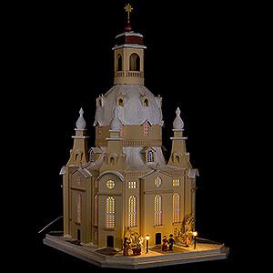 World of Light Lighted Houses Lighted House Dresden Church, LED - 51 cm / 20.1 inch