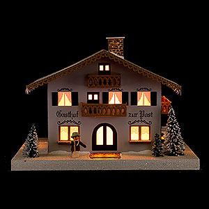 World of Light Lighted Houses Lighted House Inn
