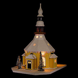 World of Light Lighted Houses Lighted House Seiffen Church - 40 cm / 15.7 inch