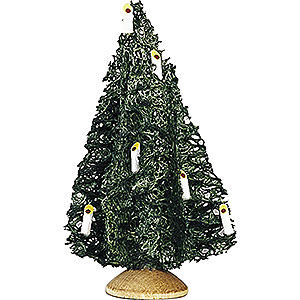 Angels Reichel decoration Little Christmas Tree, Set of Five - 10 cm / 3.9 inch