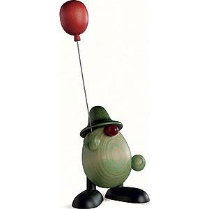 Small Figures & Ornaments Björn Köhler Little Green Men Little Green Man with Balloon - 11 cm / 4.3 inch