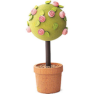 Angels Reichel decoration Little Rose Tree, Pink - 7,5 cm / 3 inch