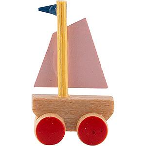 Little Ship on Wheel Board - 1,8 cm / 0.7 inch