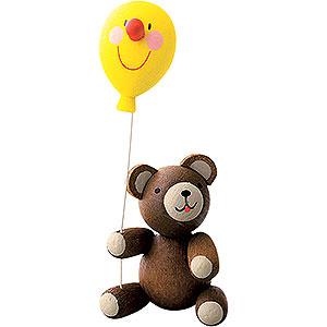 Small Figures & Ornaments Reichel Lucky Bears Lucky Bear with Balloon - 5,5 cm / 2.7 inch