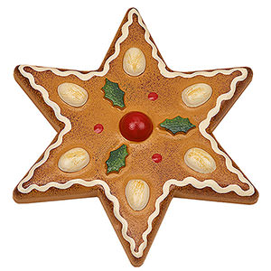 Gift Ideas Heartfelt Wish Magnetic Pin - Almond Star - 7 cm / 2.8 inch