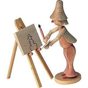 Small Figures & Ornaments Fairytale Figurines Wilhelm Busch (KWO) Maler Klecksel - 8 cm / 3 inch