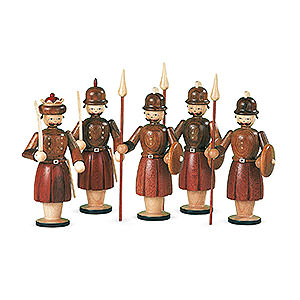 Nativity Figurines All Nativity Figurines Manger-Figurines - 5 Soldiers - 13 cm / 5 inch