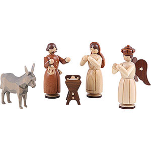Nativity Figurines All Nativity Figurines Manger-Figurines - Holy Family - 13 cm / 5 inch