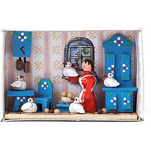 Small Figures & Ornaments Matchboxes Matchbox - Cinderella - 4 cm / 1.6 inch