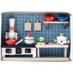 Small Figures & Ornaments Matchboxes Matchbox - Cook - 4 cm / 1.6 inch