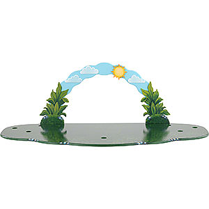 Small Figures & Ornaments Hubrig Flower Kids Meadow with Sky Arch - 80x38x27 cm / 31,5x15x10,5 inch