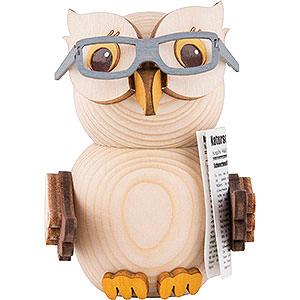 Kleine Figuren & Miniaturen Kuhnert Mini-Eulen Mini-Eule mit Brille - 7 cm