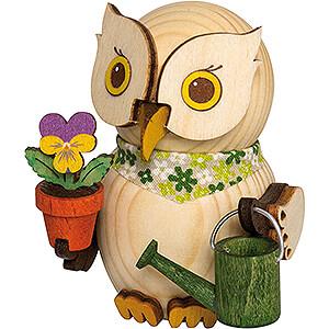 Small Figures & Ornaments Kuhnert Mini Owls Mini Owl Gardener - 7 cm / 2.8 inch