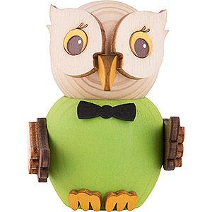 Small Figures & Ornaments Kuhnert Mini Owls Mini Owl Green - 7 cm / 2.8 inch