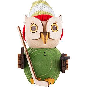 Small Figures & Ornaments Kuhnert Mini Owls Mini Owl Ice Hockey - 7 cm / 2.8 inch